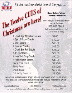 Twelve Cuts of Christmas